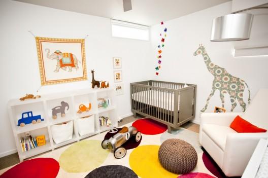 Mundo de mam decora la habitaci n del beb - Habitaciones bebe modernas ...