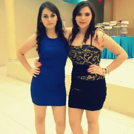Erandy (izquierda) y Anel (derecha)