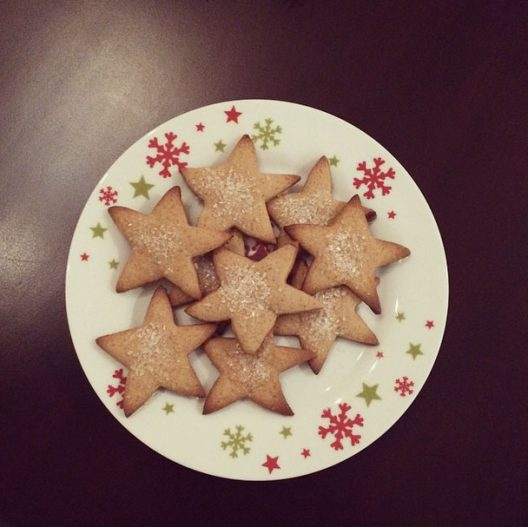 Todos los años probamos recetas de galletas para regalar en Navidad.