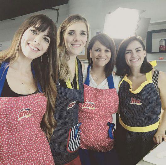 Mis amigas bloggers: Analu,  Gaby y Stephy.