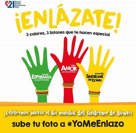 Enlázate y sube tu imagen bajo el hashtag #YoMeEnlazo.