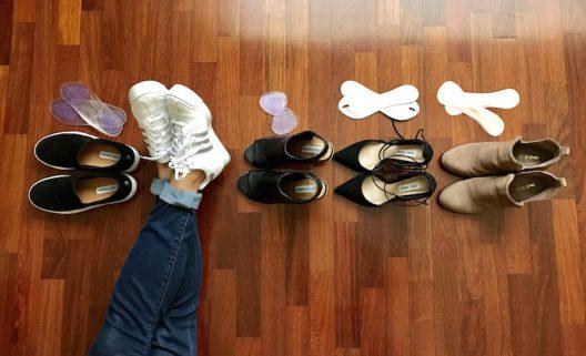 Hay una plantilla para cada tipo de zapato, para que te duren más y para que te canses menos.